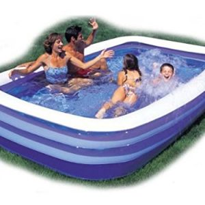 Large-Jumbo-Deluxe-Rectangular-Inflatable-Family-Swimming-Paddling-Pool-with-240V-Sidewinder-Pump-Fun-Beach-Garden-Outdoors-Games-Lounger-Round-Sun-120-x-72-x-20-by-E-Bargains-0