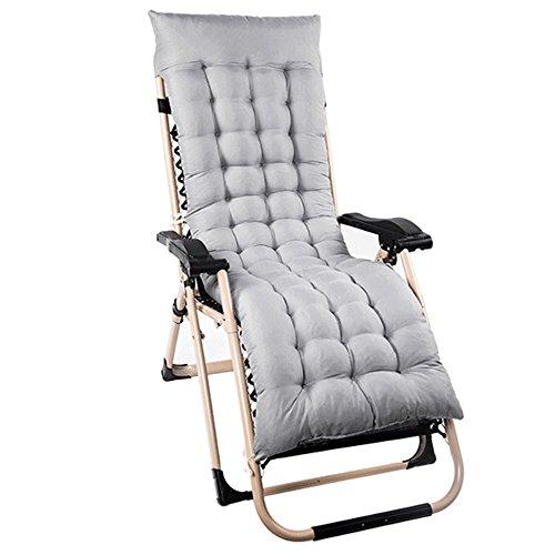 Outdoor Sun Lounger Cushion Patio Garden Furniture Thick