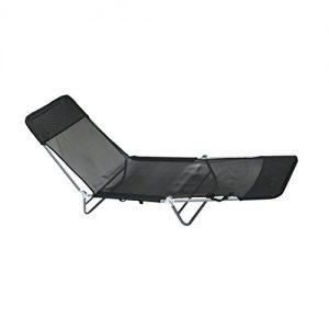 Oypla-Folding-Reclining-Sun-Lounger-Beach-Garden-Camping-Bed-Chair-0