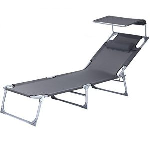 SONGMICS-Sun-Lounger-Recliner-Chair-with-canopy-and-adjustable-Backrest-193-x-62-x-30-cm-GCB19U-0