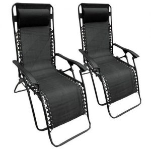 Set-of-2-Heavy-Duty-Textoline-Zero-Gravity-Reclining-Garden-Sun-Lounger-Chairs-0
