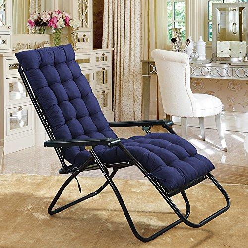 Sun Lounger Cushion Patio Garden Deckchair Recliner Lounge