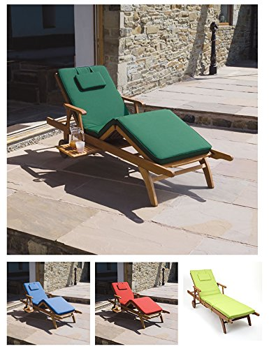 Trueshopping-Cushion-for-Amalfi-Adjustable-Sun-Lounger-Choice-of-4-Colours-0