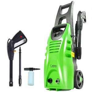 Colee-XG-01G-1600W-Compact-Full-Control-High-Pressure-Washer-for-Car-Home-Garden-Green-0