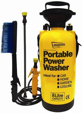 Streetwize-SWPW-Portable-Power-Pump-Pressure-Washer-Car-Jet-Wash-0