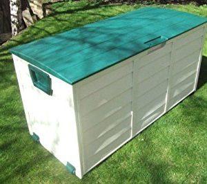 groundlevelcouk-Weatherproof-easy-move-XL-garden-storage-box-Green-Lid-0