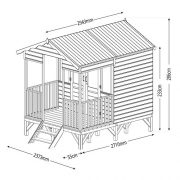11x8-Tongue-and-Groove-Wooden-Beach-Hut-Summerhouse-by-Waltons-0-5