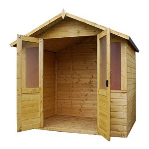 7-x-5-Shiplap-Bournemouth-Apex-Wooden-Summerhouse-Double-Doors-Felt-Included-By-Waltons-0