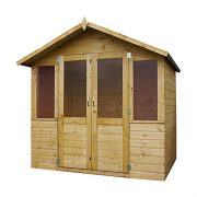 7-x-5-Shiplap-Bournemouth-Apex-Wooden-Summerhouse-Double-Doors-Felt-Included-By-Waltons-0-4