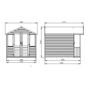 7-x-5-Shiplap-Bournemouth-Apex-Wooden-Summerhouse-Double-Doors-Felt-Included-By-Waltons-0-7