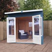 8x8-Shiplap-Wooden-Helios-Garden-Summerhouse-Curved-Roof-Double-Doors-Felt-Included-By-Waltons-0-1