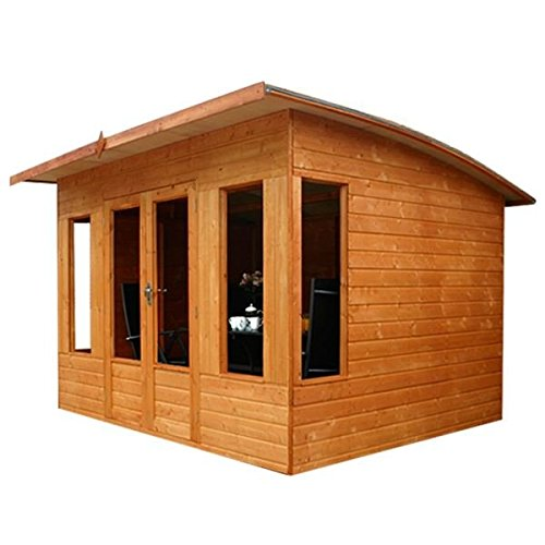 WALTONS-EST-1878-10x8-Wooden-Contemporary-Garden-Summerhouse-Shiplap-Construction-Dip-Treated-with-10-year-guarantee-Includes-Double-Doors-Pent-Roof-Floor-Roof-Felt-and-Styrene-Safety-Windows-10-x-8-1-0-4