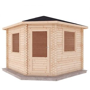 Waltons-3m-x-3m-Corner-Stylish-Wooden-Log-Cabin-0