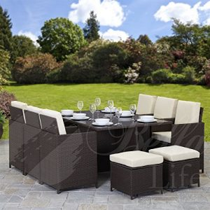 11-Piece-10-Seater-PE-Rattan-Cube-Table-Chair-Stool-Set-Garden-Furniture-0