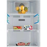 Beko-CRFG1582DS-55cm-Silver-Frost-Free-Fridge-Freezer-With-Drinks-Dispenser-0-1