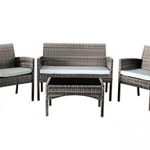 Comfy-Living-Rattan-Garden-Furniture-Set-Patio-Funiture-4-Peice-Set-in-Grey-0