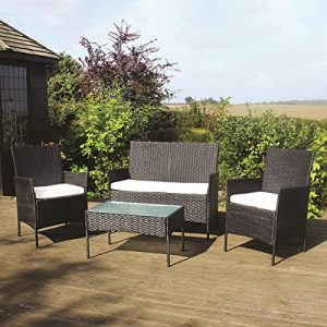 Deals-Online-4PC-GARDEN-PATIO-BLACK-RATTAN-SOFA-SET-OUTDOOR-FURNITURE-CONSERVATORY-WICKER-0