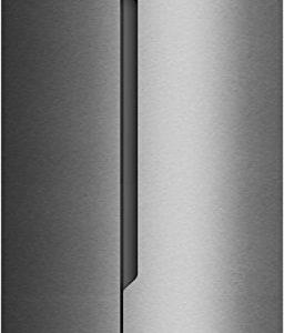 Fridgemaster-MS91518FFS-American-Fridge-Freezer-Silver-0