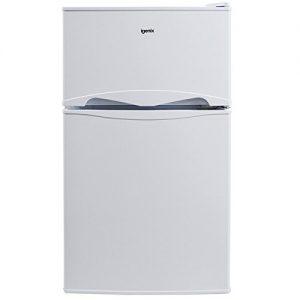 Igenix-IG347FF-Wide-Freestanding-Under-Counter-Fridge-Freezer-with-2-Shelves-and-1-Salad-Drawer-Reversible-Door-47-cm-White-0