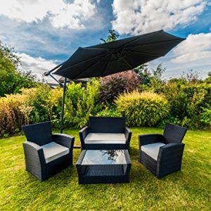 Kingfisher-Black-4-Piece-Curved-Rattan-Effect-Outdoor-Garden-Furniture-Set-0