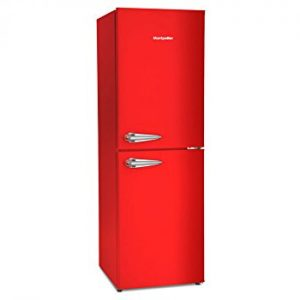 Montpellier-MAB148R-Retro-Style-50-50-Freestanding-Fridge-Freezer-Red-0