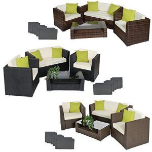 TecTake-Luxury-rattan-aluminium-garden-furniture-sofa-set-outdoor-wicker-with-glass-table-4-extra-pillows-different-colours-0