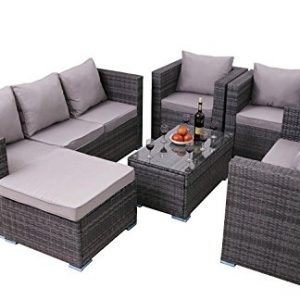 Yakoe-8-Seater-Rattan-Garden-Furniture-Patio-Conservatory-Sofa-Set-Table-Chairs-and-Stools-0
