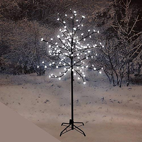 1 5m Pre Lit Led Cherry Blossom Tree With 150 Lights