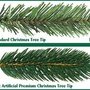 Best-Artificial-Premium-6ft-180cm-Real-Feel-Hinged-Christmas-Tree-with-Over-1100-FULL-PE-Tips-for-Indoor-Xmas-with-5-YEAR-GUARANTEE-0-3