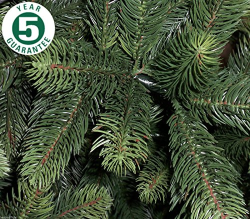 Artificial Christmas Trees Amazon Uk: Best Artificial Premium 6ft / 180cm Real Feel Hinged