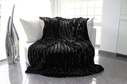 Brandsseller-Faux-Fur-Blanket-Reversible-0
