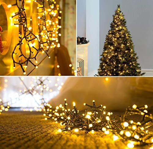 Christmas Fairy Lights 300 Led Warm White Tree Lights