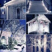 Christmas-Fairy-Lights-500-LED-Bright-White-Tree-Lights-Indoor-and-Outdoor-use-Christmas-String-Lights-Memory-Timer-functions-Mains-Powered-Fairy-Lights-499m164ft-Lit-Length-with-10m33ft-Lead-Wire-CLE-0-1