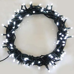 Christmas-Fairy-Lights-500-LED-Bright-White-Tree-Lights-Indoor-and-Outdoor-use-Christmas-String-Lights-Memory-Timer-functions-Mains-Powered-Fairy-Lights-499m164ft-Lit-Length-with-10m33ft-Lead-Wire-GRE-0