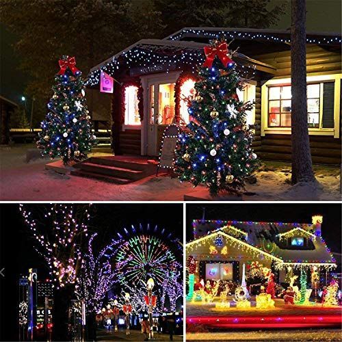Christmas Fairy Lights 500 Led Multi Color Tree Lights
