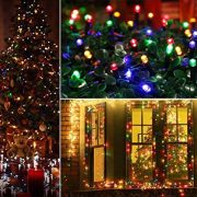 Christmas-Fairy-Lights-500-LED-Multi-Color-Tree-Lights-Indoor-and-Outdoor-use-Christmas-String-Lights-Memory-Timer-functions-Mains-Powered-Fairy-Lights-499m164ft-Lit-Length-with-10m33ft-Lead-Wire-GREE-0-5
