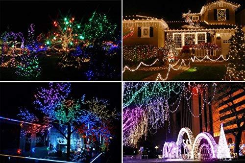 Christmas Fairy Lights 500 LED Multi Color Tree Lights