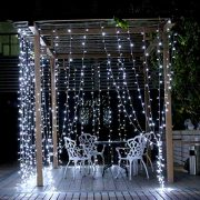 Christmas-Lights-100-LED-Bright-White-Tree-Lights-Indoor-and-Outdoor-use-Christmas-String-Lights-with-Memory-function-Mains-Powered-Fairy-Lights-99m33ft-Lit-Length-with-3m99ft-Lead-Wire-CLEAR-CABLE-0-4