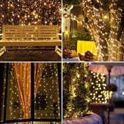 Christmas-Lights-200-LED-Warm-White-Tree-Lights-Indoor-and-Outdoor-use-Christmas-String-Lights-Memory-function-Mains-Powered-Fairy-Lights-199m66ft-Lit-Length-GREEN-CABLE-0-4