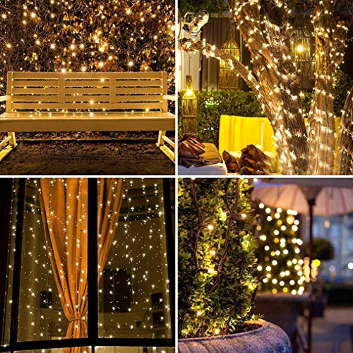 Patio Lights Amazon Ca: Christmas Fairy Lights 300 LED Warm White Tree Lights