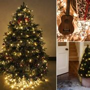 Christmas-Lights-200-LED-Warm-White-Tree-Lights-Indoor-and-Outdoor-use-Christmas-String-Lights-Memory-function-Mains-Powered-Fairy-Lights-199m66ft-Lit-Length-GREEN-CABLE-0-7