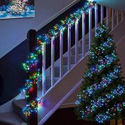 Cluster-Lights-480-LED-Multi-Color-Tree-Lights-Indoor-and-Outdoor-use-Christmas-String-Lights-8-Modes-with-Memory-Timer-function-Mains-Powered-Fairy-Lights-6m196ft-Lit-Length-with-10m33ft-Lead-Wire-GR-0-4