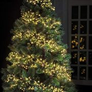 Cluster-Lights-720-LED-Warm-White-Tree-Lights-Indoor-and-Outdoor-use-Christmas-String-Lights-8-Modes-with-Memory-Timer-function-Mains-Powered-Fairy-Lights-9m295ft-Lit-Length-with-10m33ft-Lead-Wire-GRE-0-2