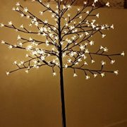 Garden-Mile-New-6ft-18m-Pre-Lit-with-240-Warm-White-LED-lights-Cherry-Blossom-Tree-Christmas-xmas-Tree-suitable-for-indoor-or-outdoor-use-0-0