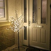 Garden-Mile-New-6ft-18m-Pre-Lit-with-240-Warm-White-LED-lights-Cherry-Blossom-Tree-Christmas-xmas-Tree-suitable-for-indoor-or-outdoor-use-0-2