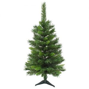 Mr-Crimbo-3ft-90cm-Mixed-Pine-Artificial-Christmas-Tree-Indoor-Xmas-Decoration-Small-0