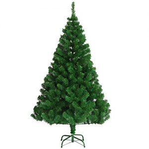 VEYLIN-6ft-Christmas-Tree-700-Tips-Artificial-Tree-with-Metal-Stand-0