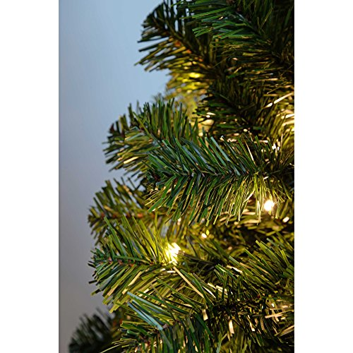 Green And White Christmas Tree: WeRChristmas Spruce Pre-Lit Multi-Function Christmas Tree