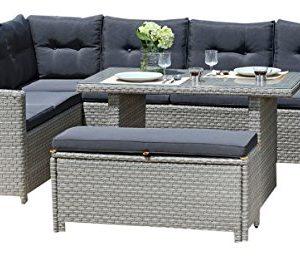 BackYard-Furniture-Barcelona-Luxury-10-Seater-Casual-Dining-Rattan-Garden-Set-with-Cushions-Grey-191x177x87-cm-0