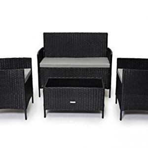 CosmoLiving-Rattan-Garden-Furniture-Set-Patio-Conservatory-Indoor-Outdoor-4-piece-set-table-chair-sofa-0